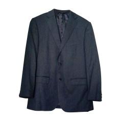 Complete Suit BALMAIN Blue, navy, turquoise