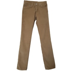 Straight-Cut Jeans  LEVI'S Beige
