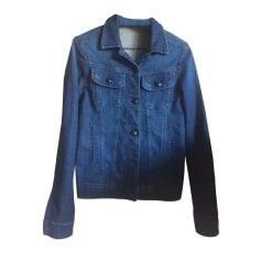 Giacca di jeans COMPTOIR DES COTONNIERS Blu, blu navy, turchese
