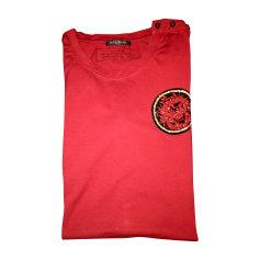 T-shirt BALMAIN Rosso, bordeaux