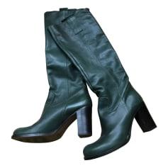 High Heel Boots MINELLI Green
