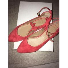Ballet Flats CLAUDIE PIERLOT Red, burgundy