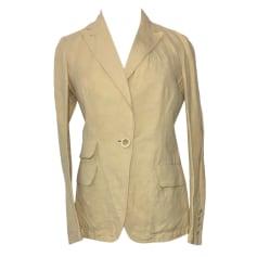 Zipped Jacket DKNY Beige, camel