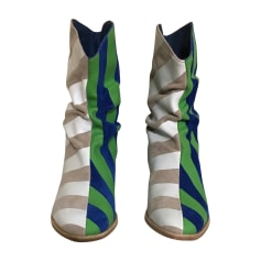 Bottines & low boots à talons BERNHARD WILLHELM Multicouleur