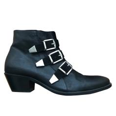 Bottines & low boots à talons LEMARE Noir