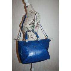 Sac XL en cuir ARTHUR & ASTON Bleu, bleu marine, bleu turquoise