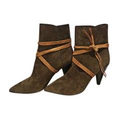 High Heel Boots ISABEL MARANT Brown