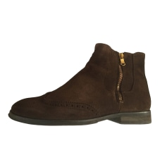 Ankle Boots SERGE BLANCO Brown