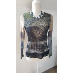 Top, tee-shirt BLEU DE SYM Kaki