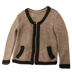 Strickjacke, Cardigan SANDRO Grau, anthrazit