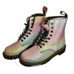Bottines & low boots plates DR. MARTENS Multicouleur