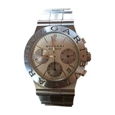 Orologio da polso BULGARI Argentato, acciaio
