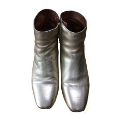 Bottines & low boots à talons ANDRÉ Doré, bronze, cuivre