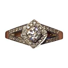 Ring MAUBOUSSIN White, off-white, ecru
