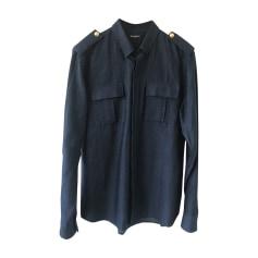 Shirt BALMAIN Blue, navy, turquoise