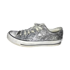 Sneakers CONVERSE Silberfarben, stahlfarben