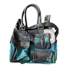 Non-Leather Shoulder Bag DESIGUAL Blue, navy, turquoise