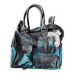 Schultertasche Stoff DESIGUAL Blau, marineblau, türkisblau
