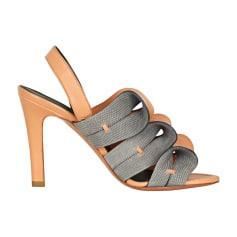 Heeled Sandals BALENCIAGA Orange
