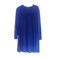 Robe mi-longue AMERICAN VINTAGE Bleu, bleu marine, bleu turquoise