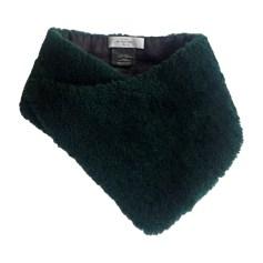 Echarpes   Foulards Femme Laine Vert de marque   luxe pas cher ... f035b57bf2b