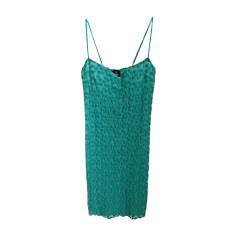 Robe courte VERSACE Vert