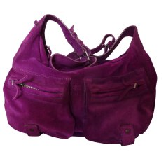 Leather Shoulder Bag JEROME DREYFUSS Purple, mauve, lavender