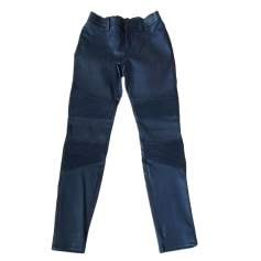 Pantalone slim, a sigaretta J BRAND Nero