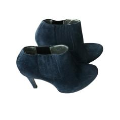 Bottines & low boots à compensés FREE LANCE Bleu, bleu marine, bleu turquoise