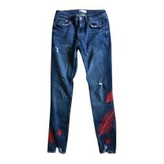 Jeans slim ZARA Blu, blu navy, turchese