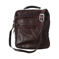 Sac XL en cuir 100% VINTAGE Marron