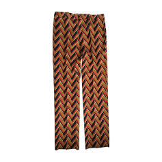Straight Leg Pants GUCCI Multicolor