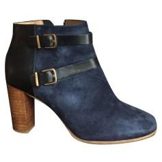 Bottines & low boots à talons SÉZANE Bleu, bleu marine, bleu turquoise