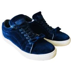 Baskets CLAUDIE PIERLOT Bleu, bleu marine, bleu turquoise