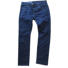 Jeans slim ARMANI EXCHANGE Bleu, bleu marine, bleu turquoise