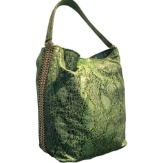 Leather Handbag STELLA MCCARTNEY Green