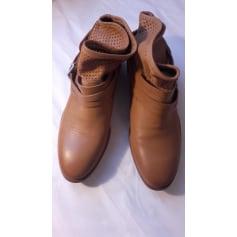 Bottines & low boots plates SAN MARINA Marron