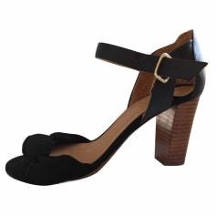 Heeled Sandals SÉZANE Black
