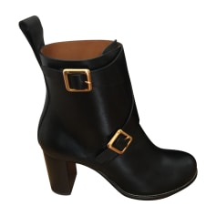 Bottines & low boots à talons CHLOÉ Noir
