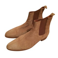 Ankle Boots THE KOOPLES Beige, camel