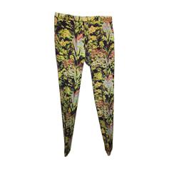 Skinny Pants, Cigarette Pants KENZO Multicolor