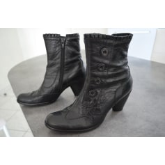 Bottines \u0026 low boots à talons KARSTON Noir