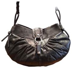 70e19a6ea5 Leather Handbag FRANCESCO BIASIA Black