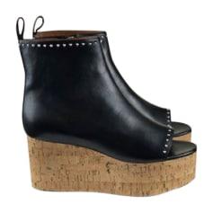 Sandales compensées GIVENCHY Noir
