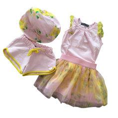 Shorts Set, Outfit BLUMARINE BABY Pink, fuchsia, light pink