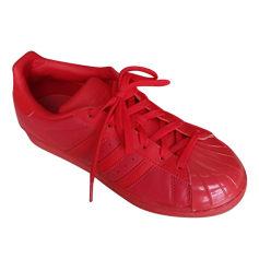 Sneakers ADIDAS Red, burgundy