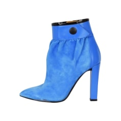 High Heel Ankle Boots BALENCIAGA Blue, navy, turquoise
