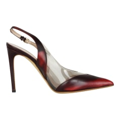 Pumps, Heels VIVIENNE WESTWOOD Red, burgundy