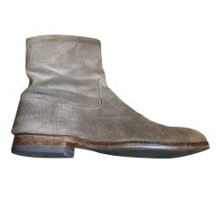 Ankle Boots ATELIER VOISIN Beige, camel