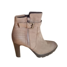 High Heel Ankle Boots MINELLI Brown